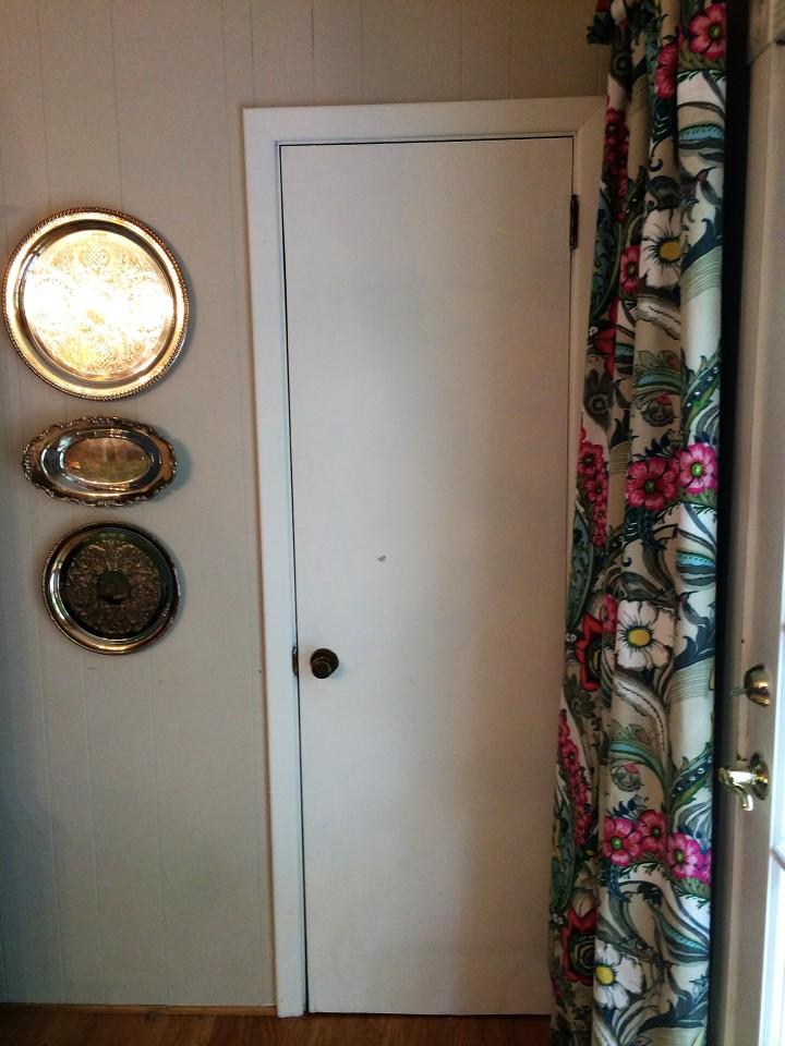 dining room door before