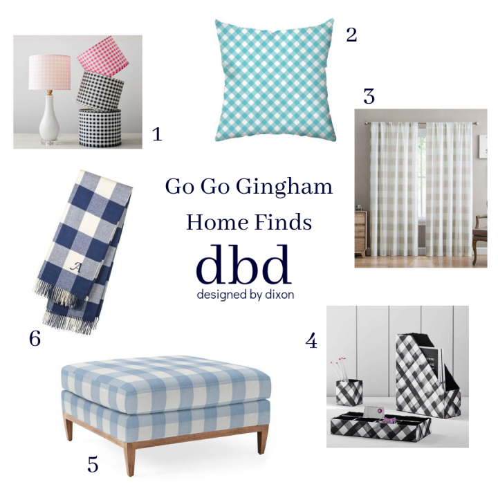 Go Go Gingham Home Finds
