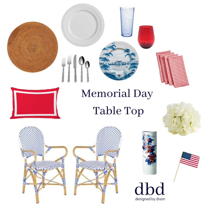 Memorial Day Table Top