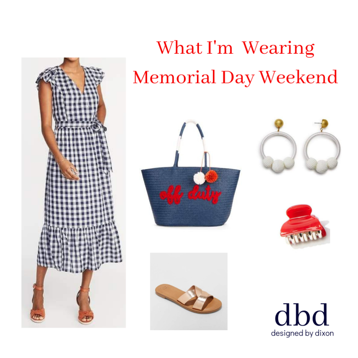 What I'm Wearing Memorial Day Weekend