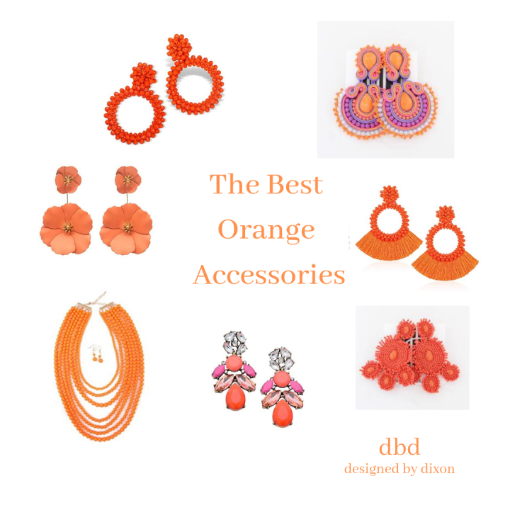 The Best Orange Accessories