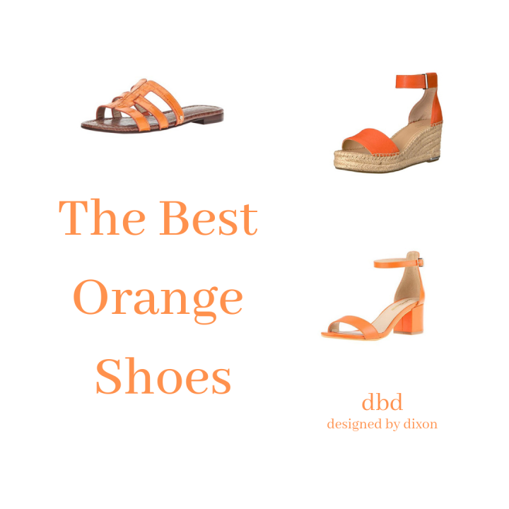 The Best Orange Shoes